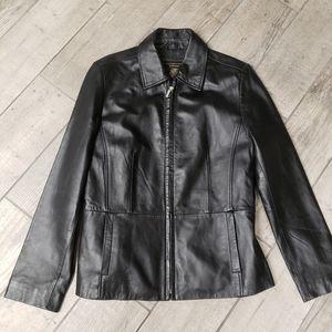 GUC lambskin leather jacket size S